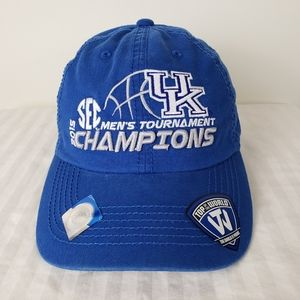 2015 SEC Basketball Tournament Champions UK Hat